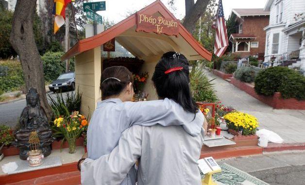 buddha statue in high crime areas