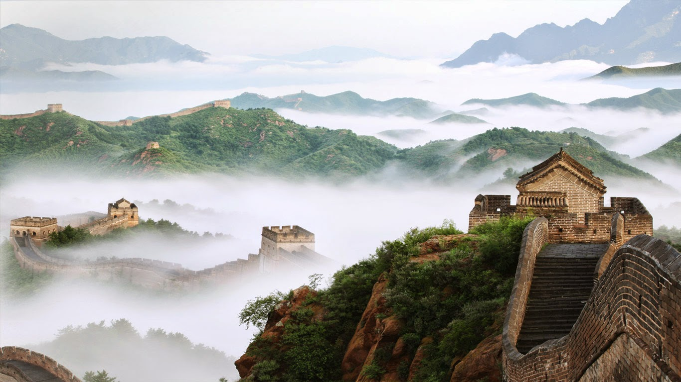 Jinshanling section of the Great Wall of China (© View Stock/Getty Images) 98