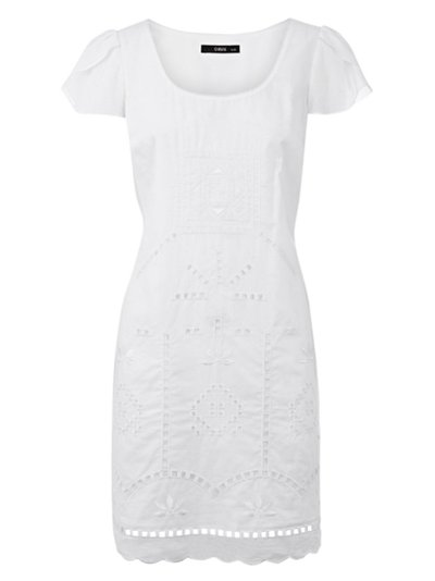 Site Blogspot  White Dress on Out Oasis S White Cut Out Dress Which Is   45 At Johnlewis Com