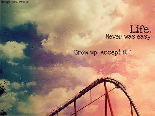 Grow Up, Accept It