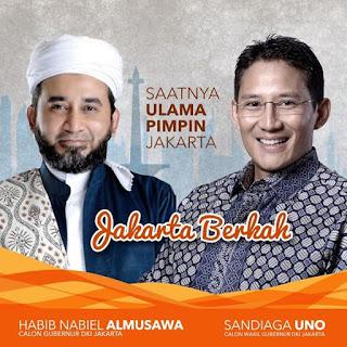Habib Nabiel Almusawa Klarifikasi Terkait Pencalonan PILGUB DKI 2017