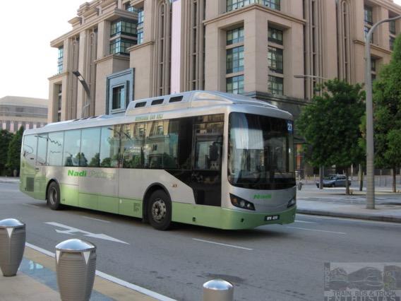 Perkhidmatan bas elektrik di Putrajaya bakal bermula