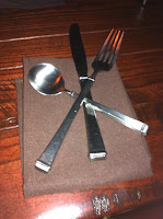 The Public House place settings