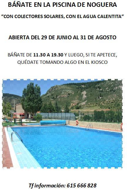 Alojamiento rural las c rcavas noguera de albarrac n - Alojamiento rural con piscina ...