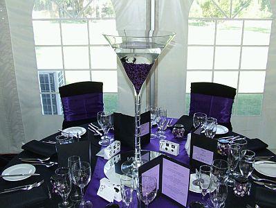 Centros de mesa con vasos y copas parte 2 - Centros de mesa con copas ...