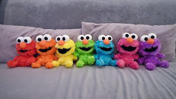 تُحفة بتاع عالم سمسم / Colorful Elmo
