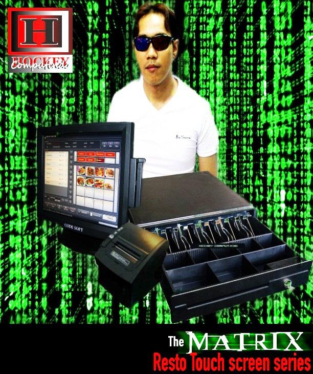 mesin komputer kasir lengkap komplit set