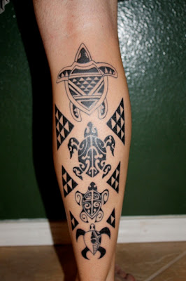 Hawaiian Tribal Tattoos Design Picture6