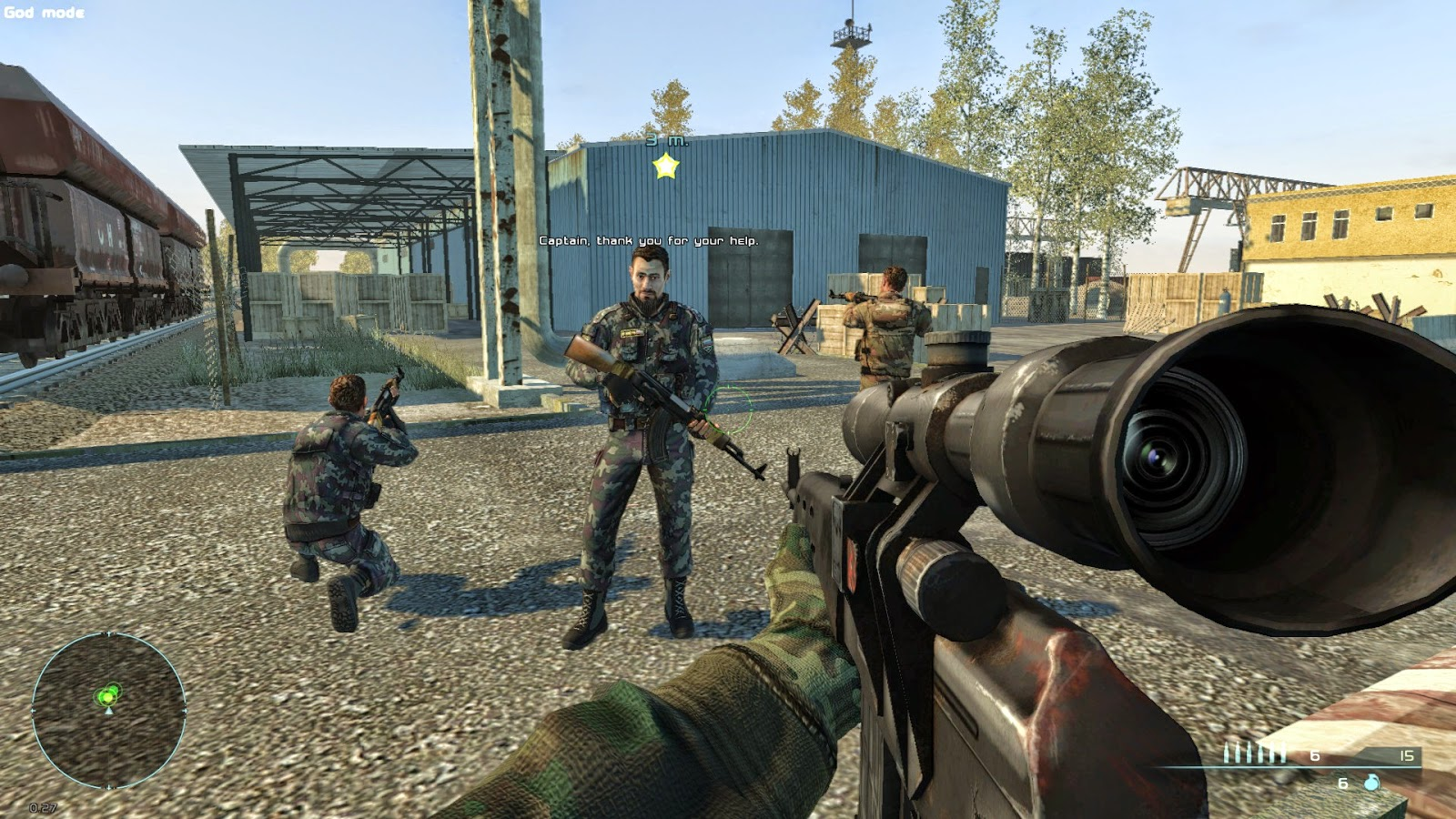 Chernobyl Commando Screenshot
