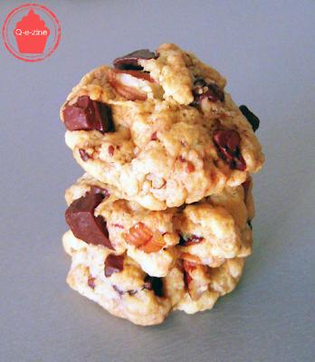 cookies noix de pécan pépites chunks chocolat