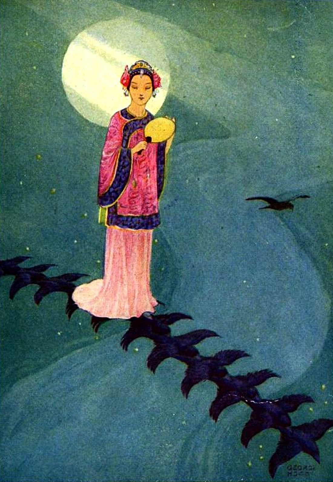 Weaving Maiden Chinese Fairy Book FREE COLOR IMAGE
