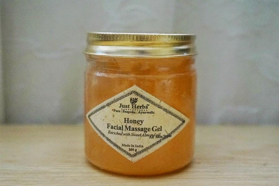 Just Herbs Honey Facial Massage Gel