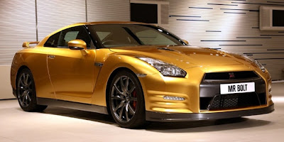 Nissan GT-R Special Edition Usain Bolt