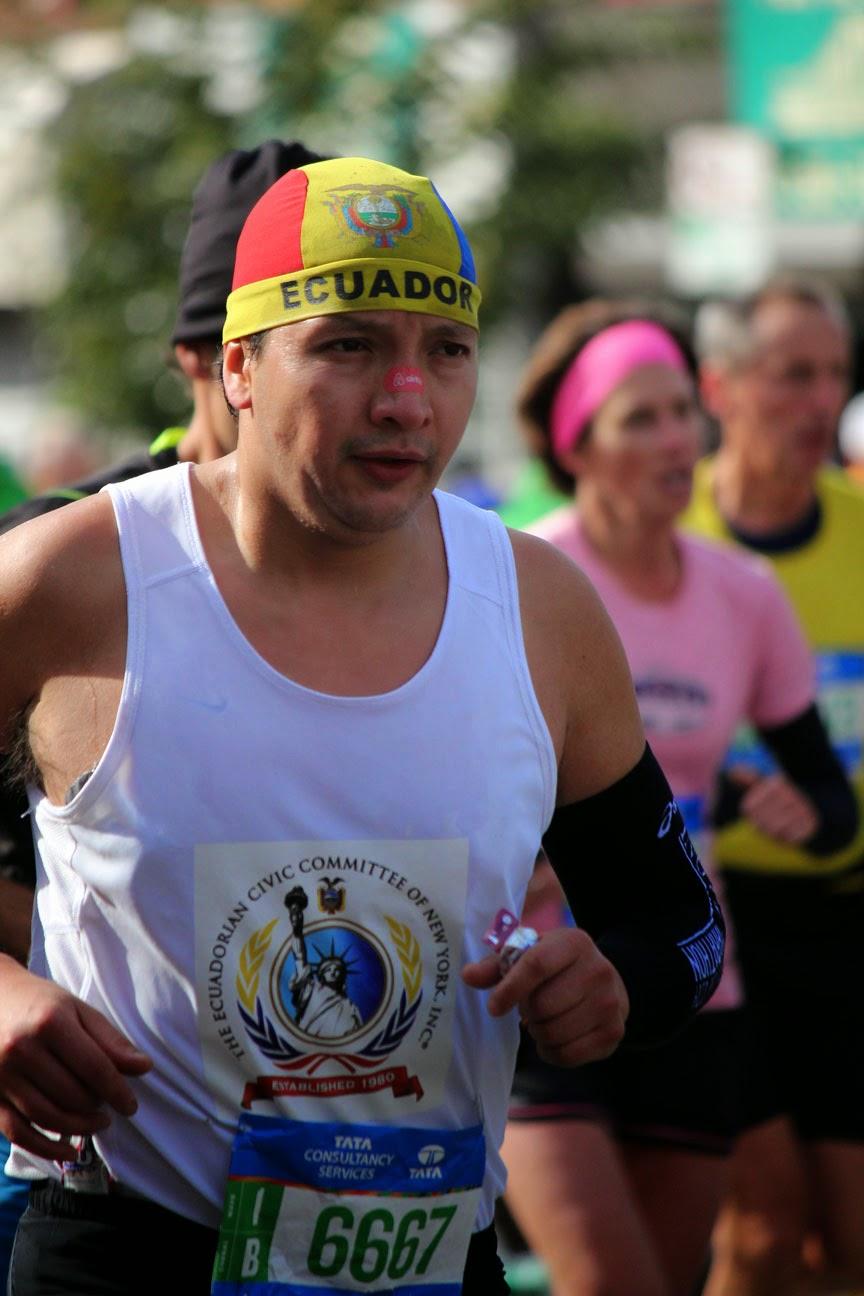 El Maratón de la Ciudad de Nueva York 2014 - Ecuador