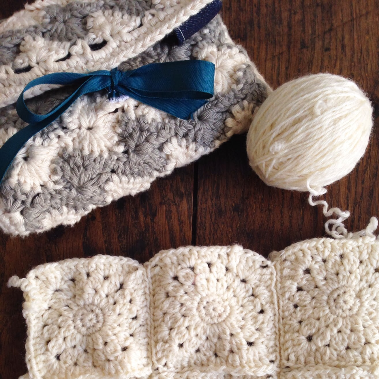 Granny squares © L'anglaise