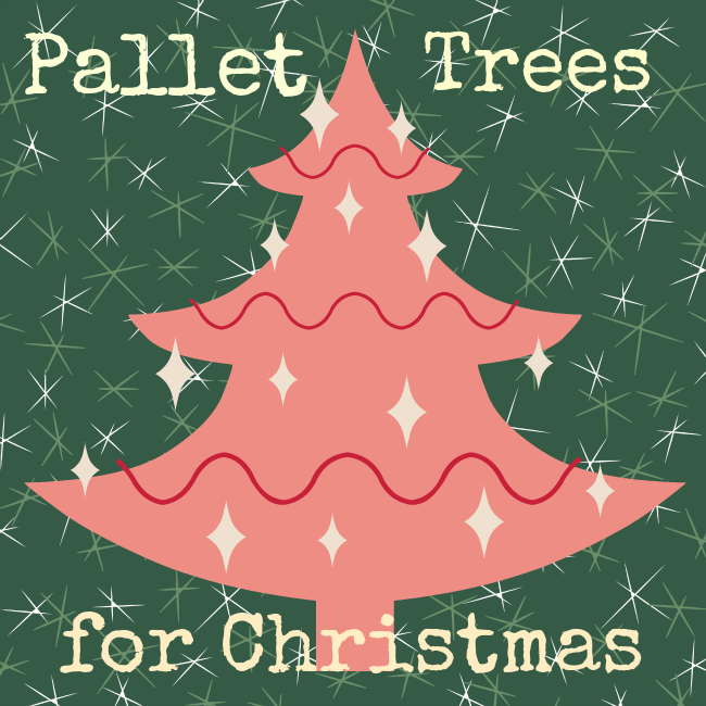 12 fabulous pallet christmas trees you can make yourself crafts a shanty 2 chic made a sweet pallet tree and decorated it too check it out you are definitely going to want to make this one it has little shelves also solutioingenieria Choice Image