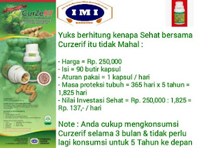 Curzerif Herbal Open Order Rp.250.000