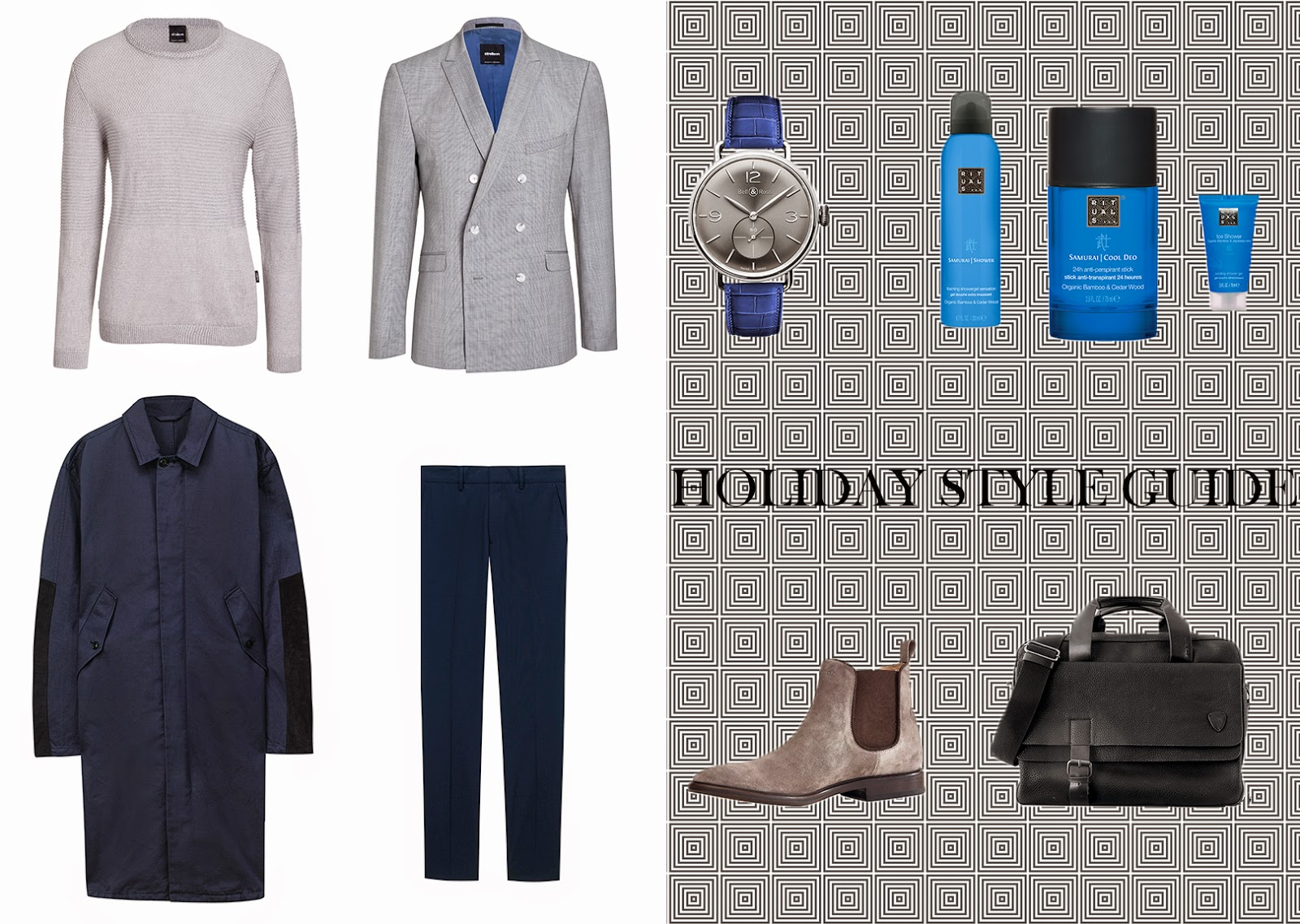 STYLE GUIDE: HOW TO  SOPHISTICATED LOOK strellson ss15