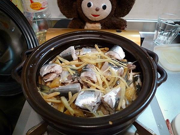 イワシの炊き込みご飯の作り方(2)