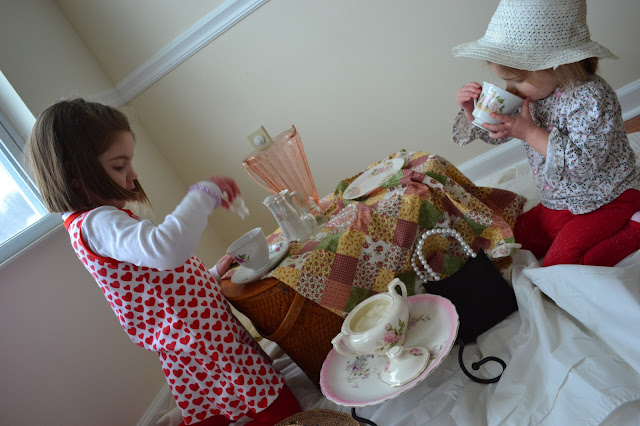 A Valentine's Day Tea Party