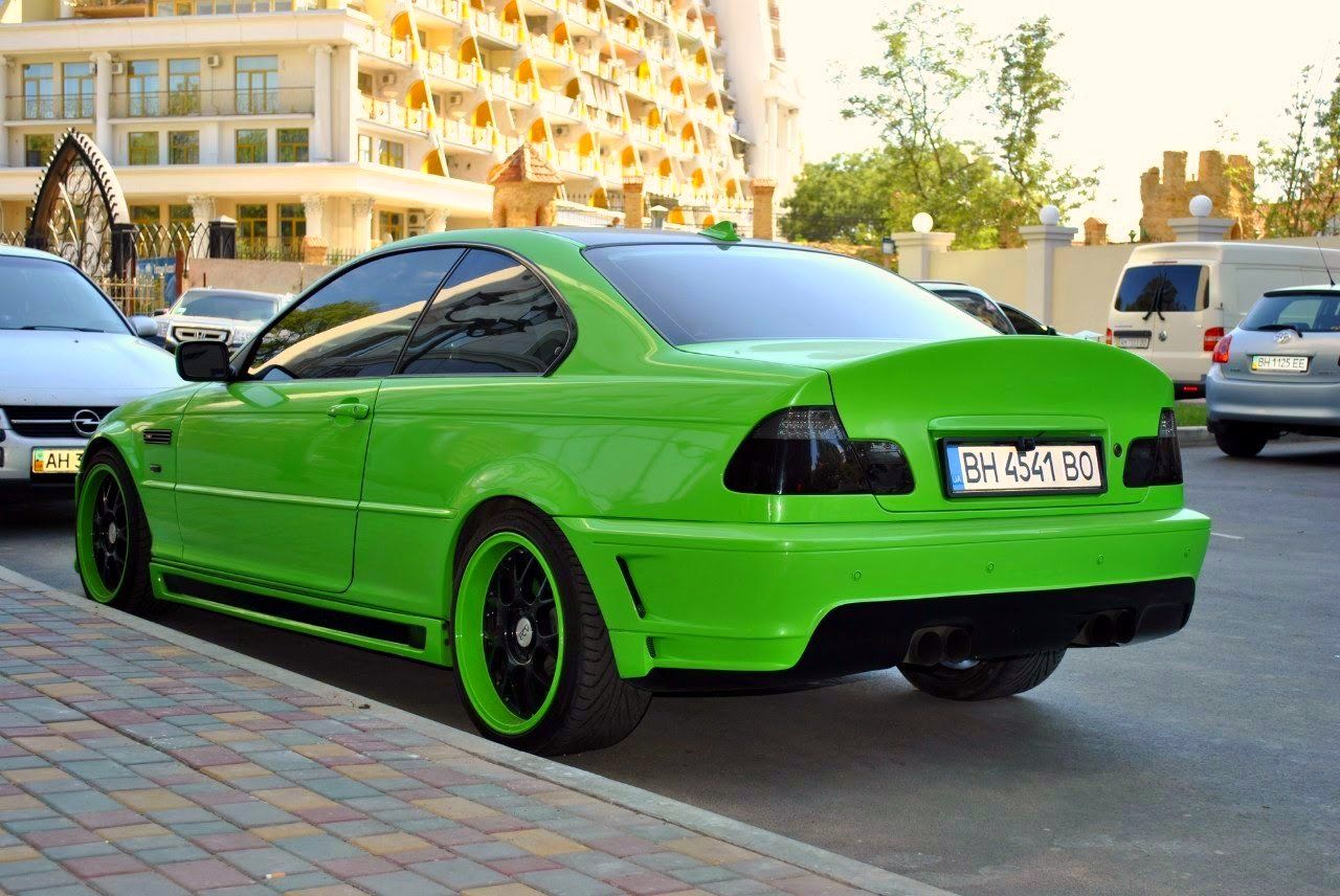 bmw m3 coupe green - photo #18