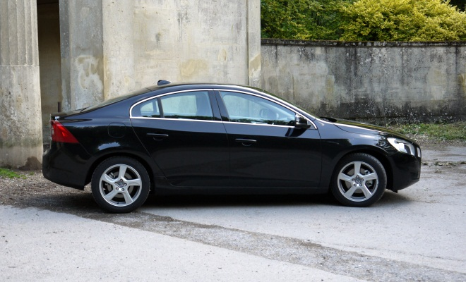 Volvo S60 from the side