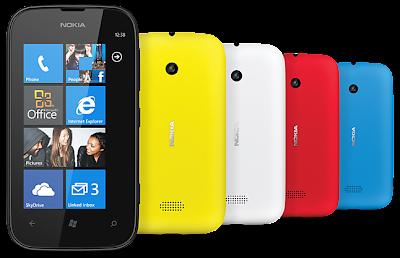 Nokia Lumia 510 - Colores disponibles