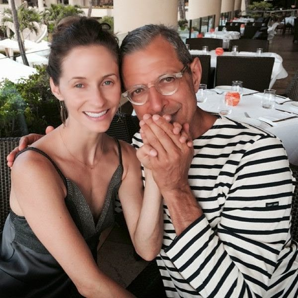 Staying at the Grand Budapest Hotel, the 61-year-old has been making the most of his time in Hawaii on Tuesday, July 15, 2014 to celebrate that ring around his special finger. And while we're sure much of ladies out there are hoping the tales of Jeff Goldblum proposing to Emilie Livingston are false, it has now been confirmed.