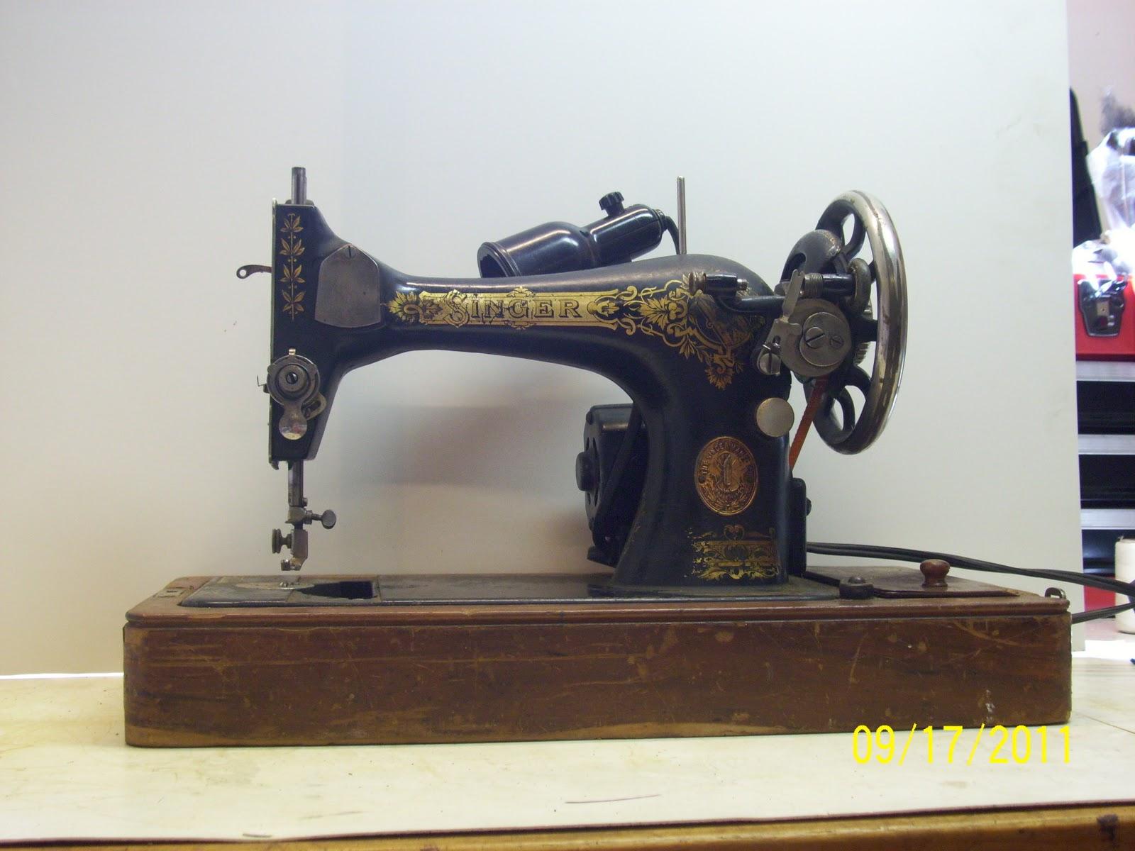 singer 128 sewing machine