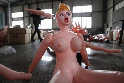 Pabrik Sex Toys (Boneka Seks) Terbesar Di China