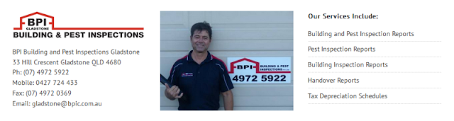reputable building and pest inspection experts in Gladstone