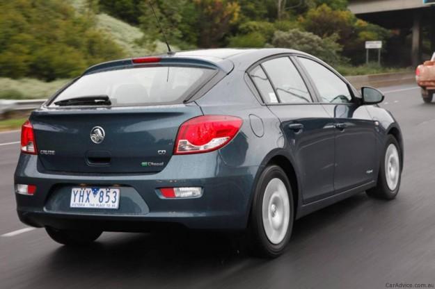 2012 Holden Cruze Hatch
