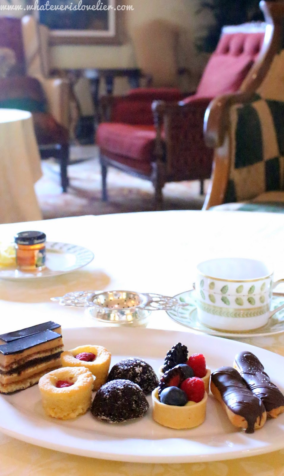 Travel Tuesday: Afternoon Tea at the Grand Del Mar, CA