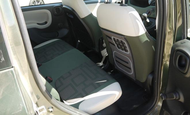 Fiat Panda 4x4 rear interior