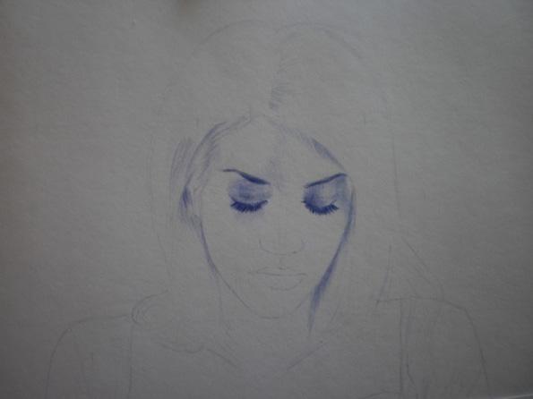 Anyelo González Dibujo Bolígrafo