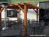 Pateros Creek outdoor patio