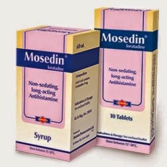 موسيدين أقراص وشراب | مضاد للحساسية