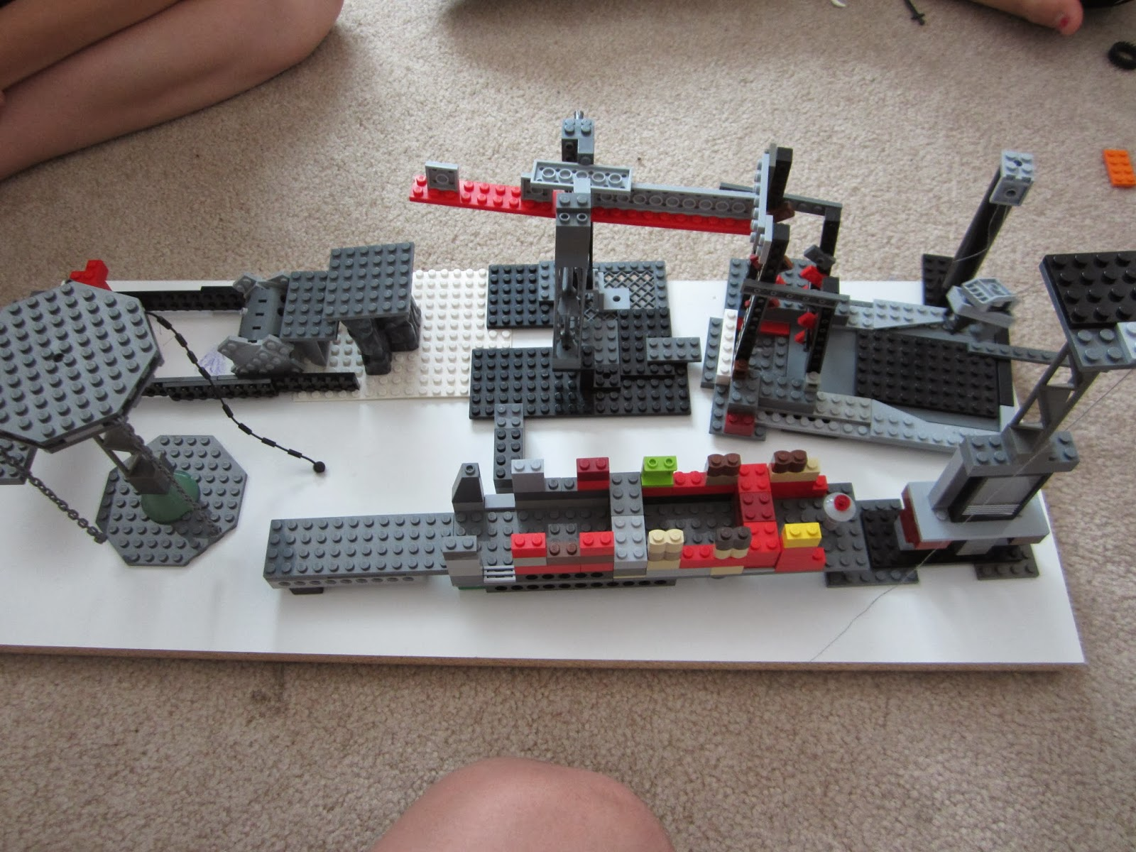 Our life with ll kids lego ninja warrior stage 2