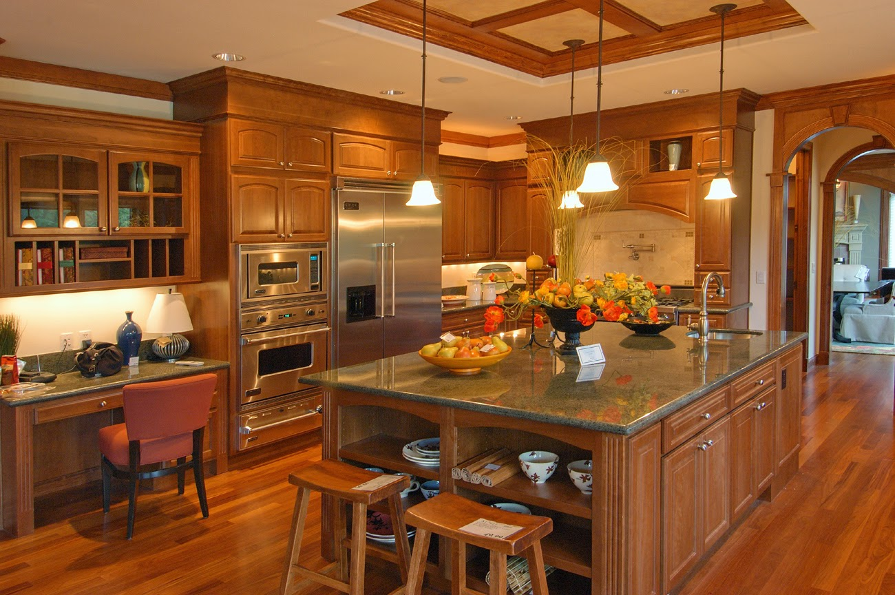 Traditional Kitchen With Contemporary Luxury Feels