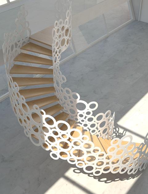 Escaleras de Caracol Modernas