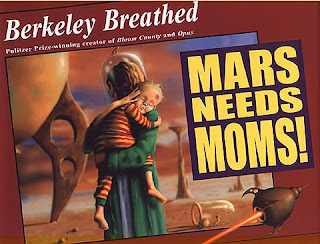 Mars Needs Moms animation movie poster