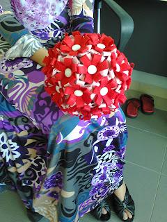 Felt Hand Bouquet