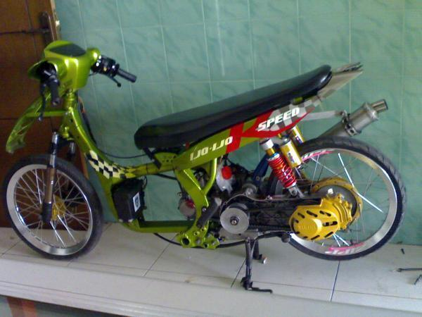 Motor Mio Drag Racing