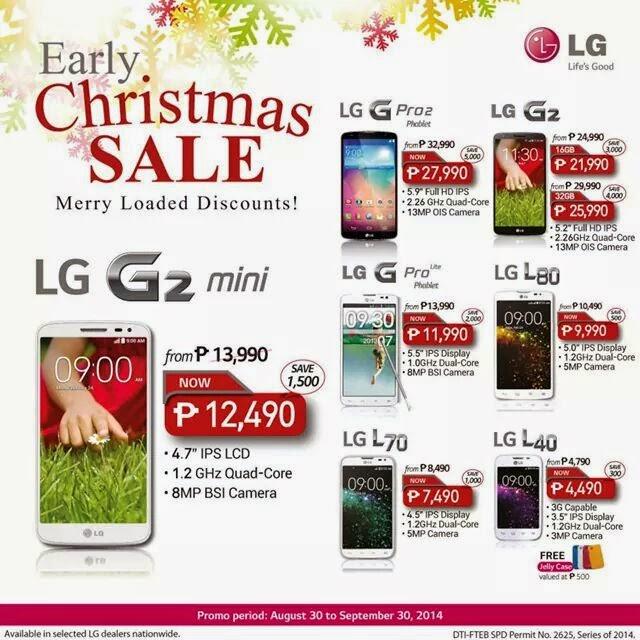 LG Christmas Sale 2014 Discount LG G2