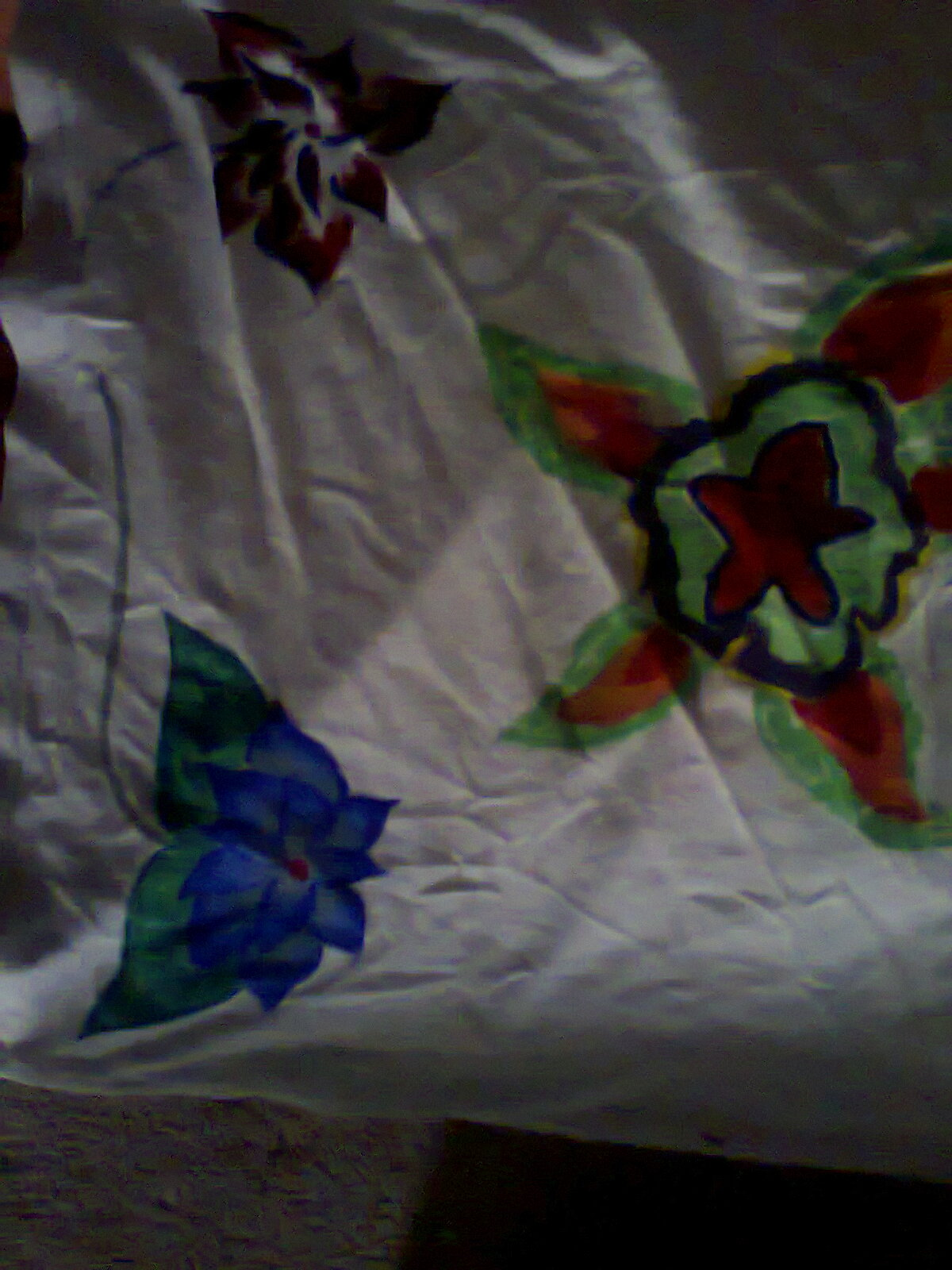sablon bunga sederhana bunga teratai nan merah bunga teratai nan biru