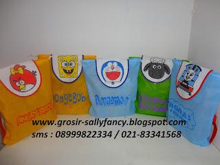 tas ultah anak spongebob tas souvenir murah tas souvenir murah