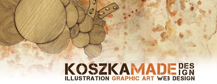 koszka made design + illustration