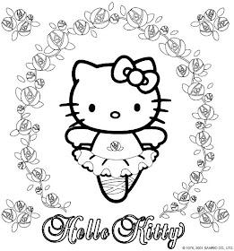 Desenho como desenhar o kitty hello pintar e colorir
