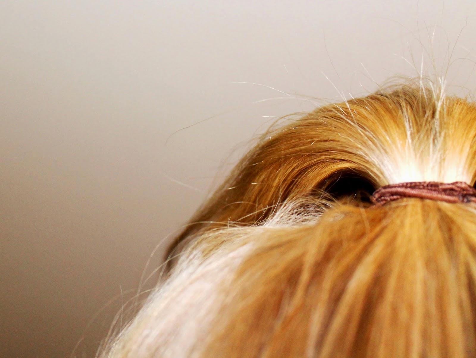 New hair, like I had highlights.. :D | Alinan kotona blog