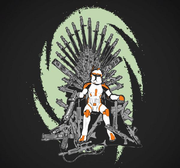 Кто сидит на железном троне? Мэшеп на тему Железного трона